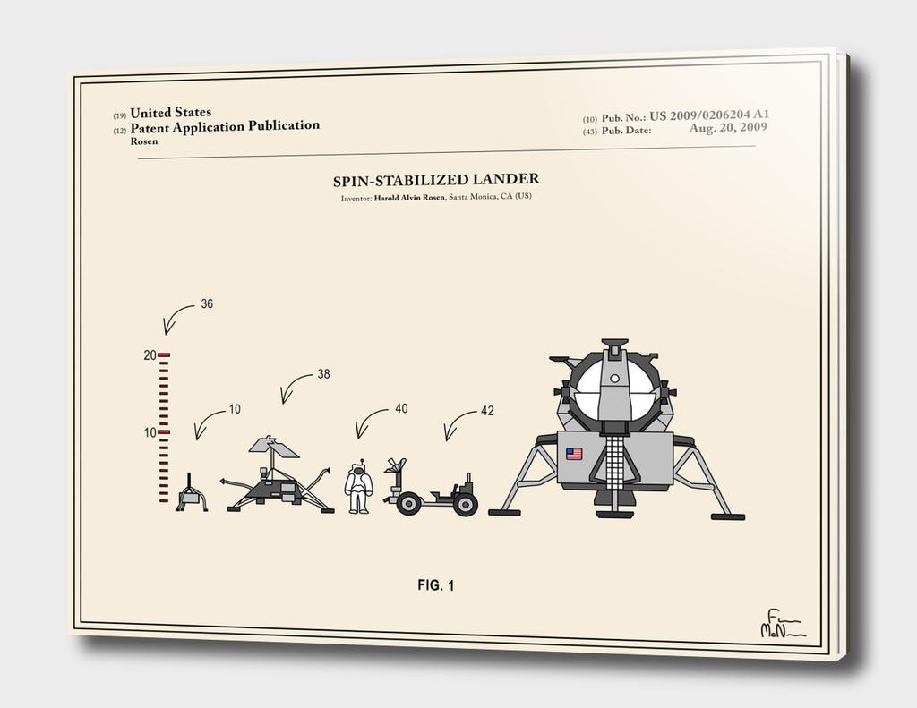 Space Lander Patent