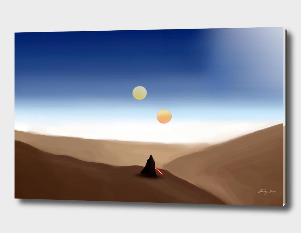 Darth Vader on Tatooine
