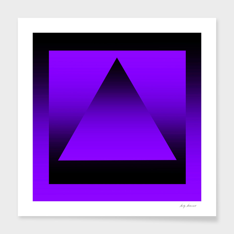 Triangle Purple Gradient