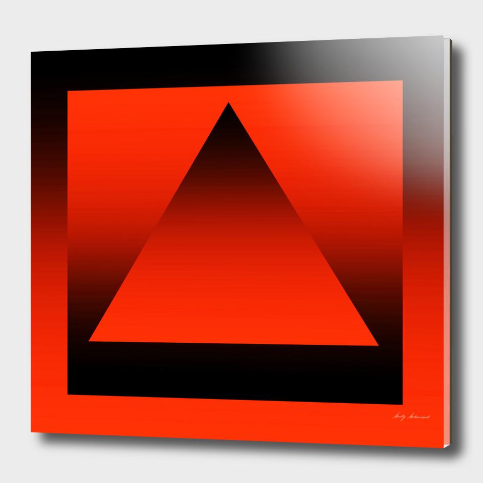 Triangle Orange Gradient