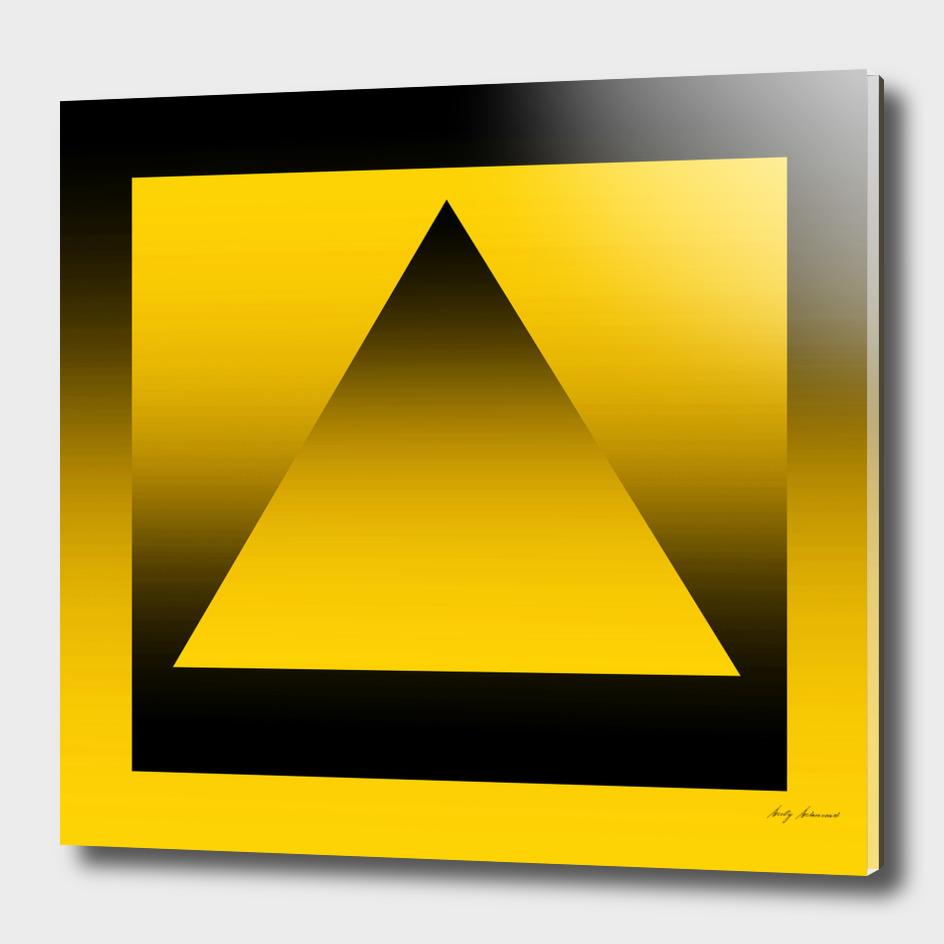 Triangle Yellow Gradation