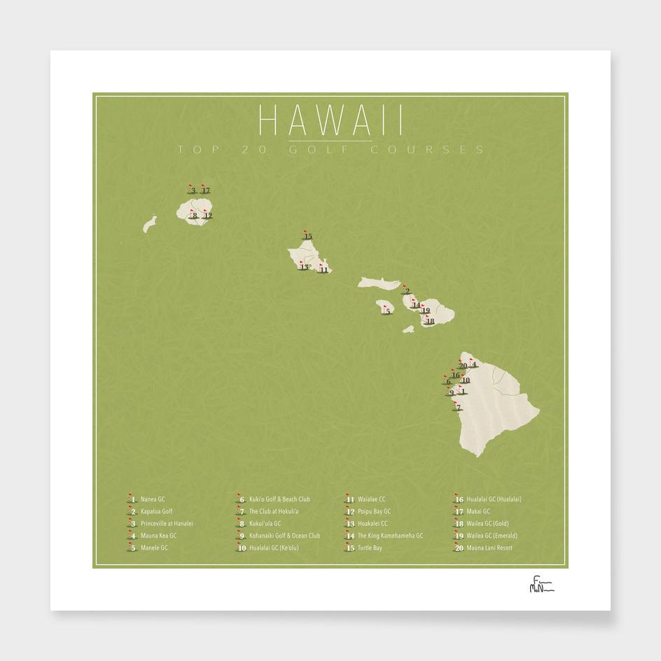 Hawaii Golf Courses