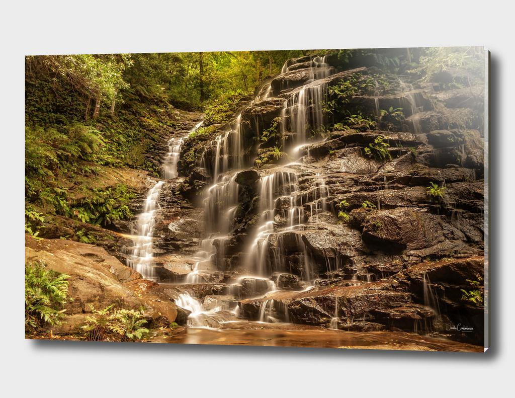 Sylvia Falls - Blue Mountains, Australia.