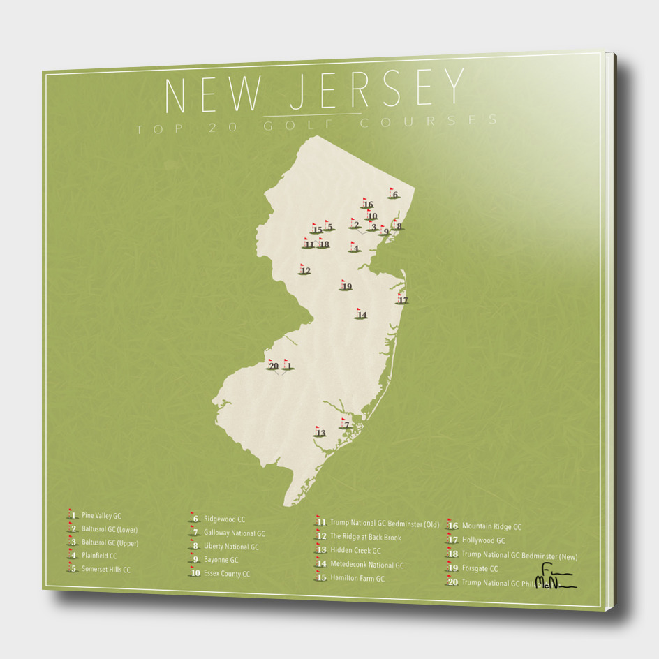 New Jersey Golf Courses