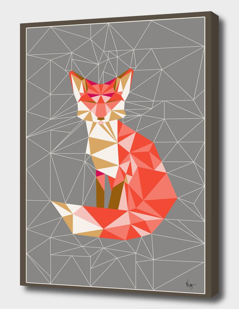 fox geodesic grey