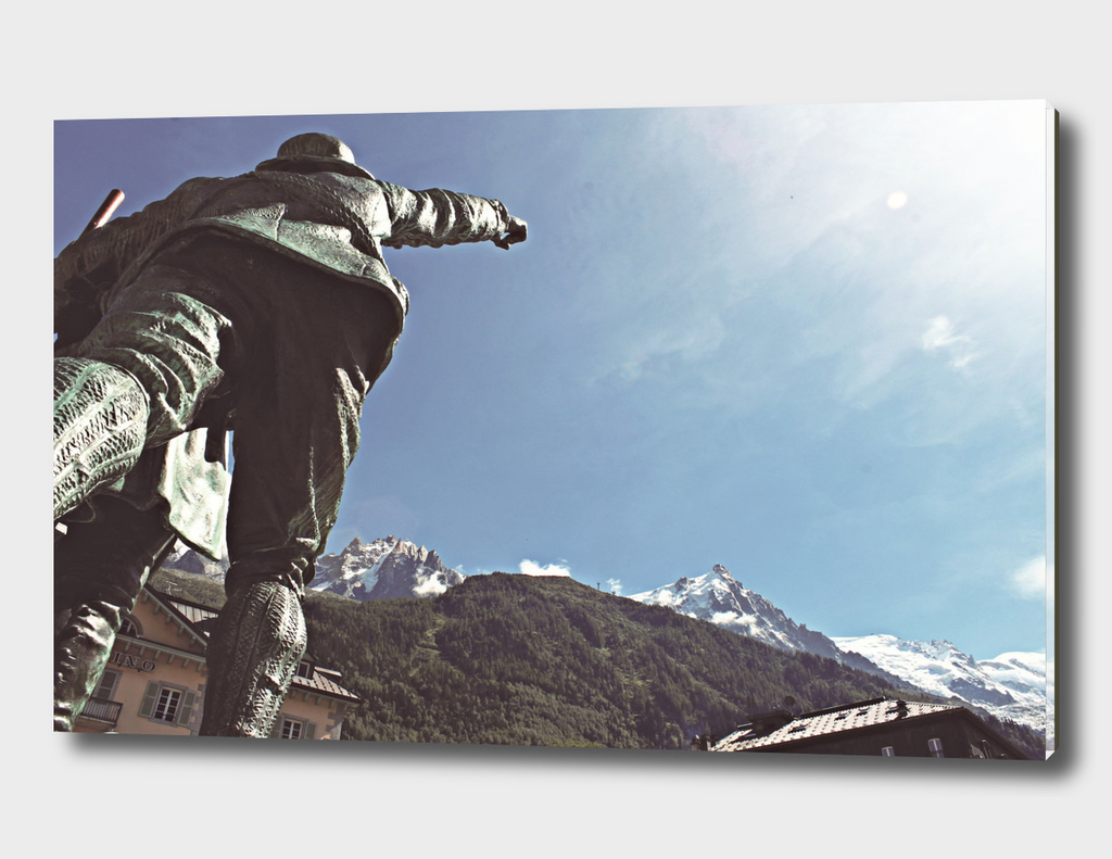 This way to the Aiguille du Midi