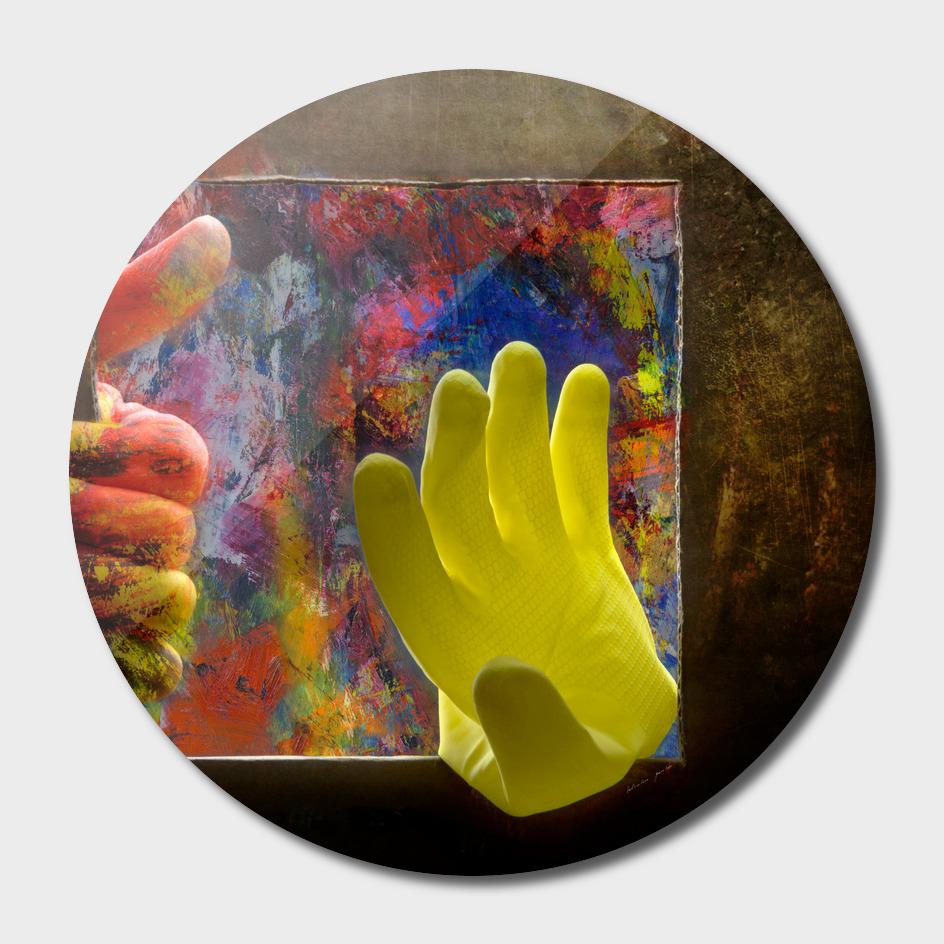 Painters, dip your hands ......