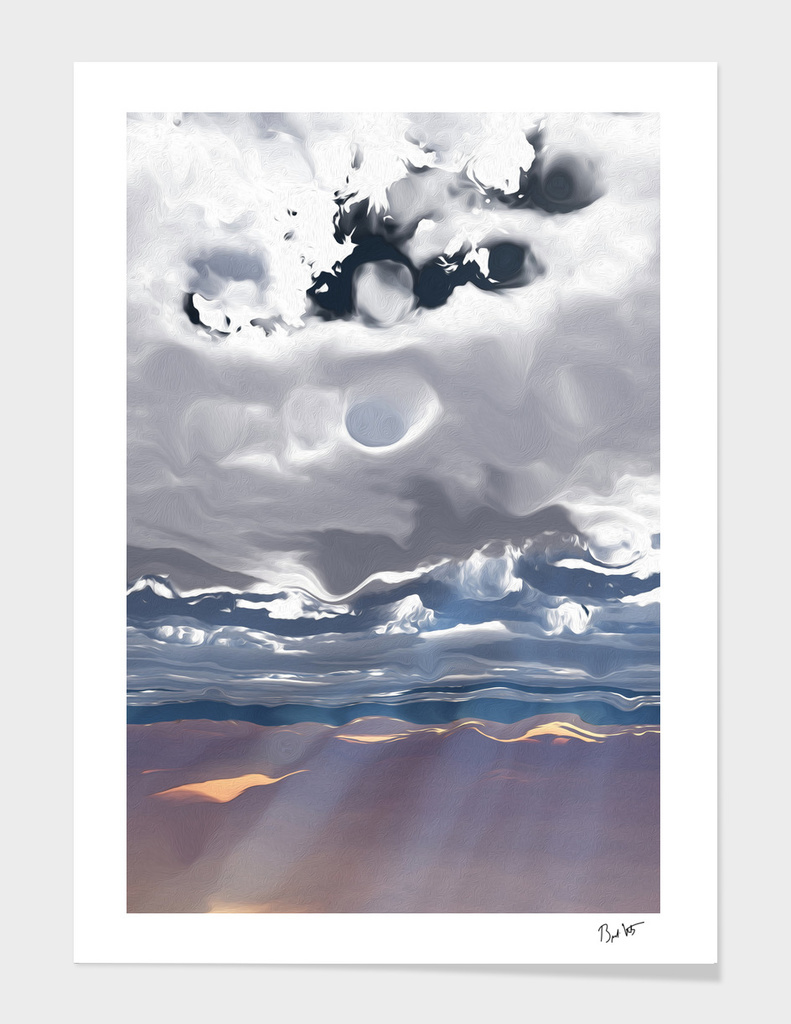 Godrays (Cloud series #3)