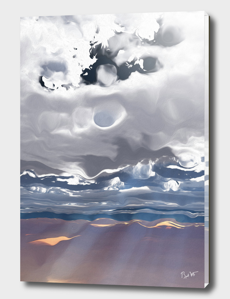 Godrays (Cloud series #3)
