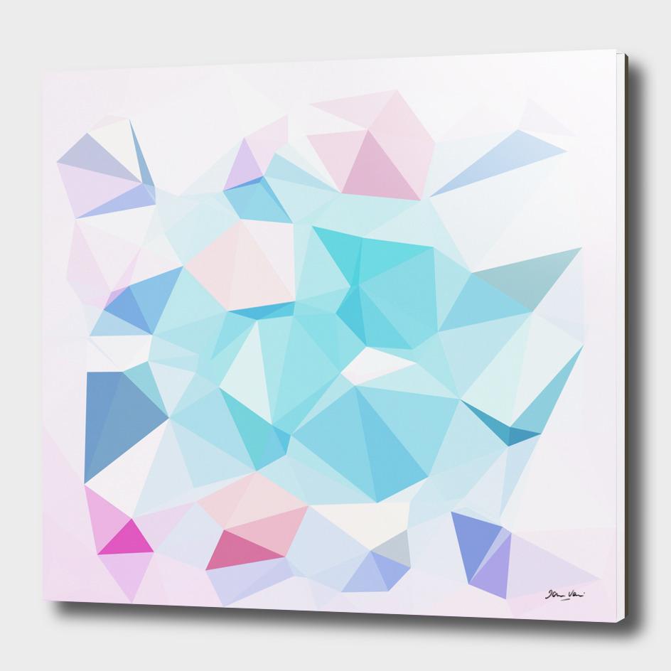 Geo Crystals - Pastel