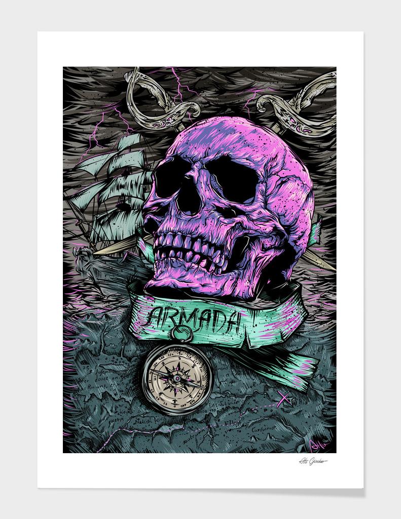 Pirate's skull