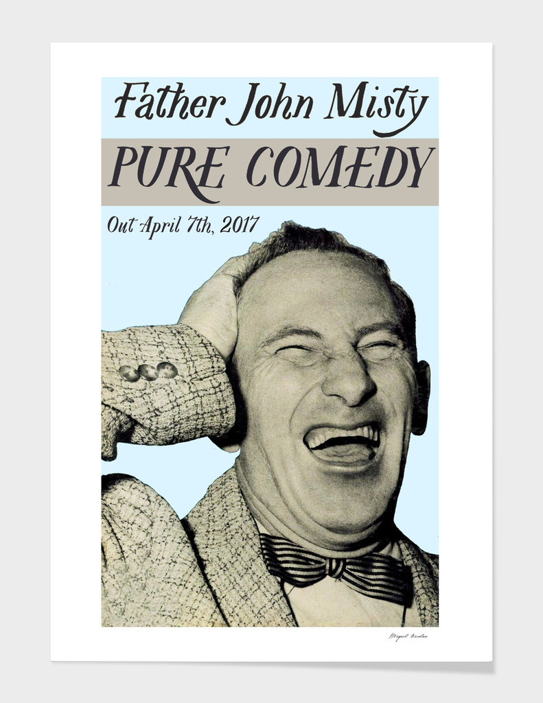 Pure Comedy Poster