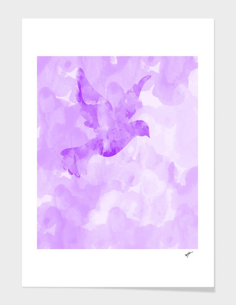 Abstract Flying Dove II