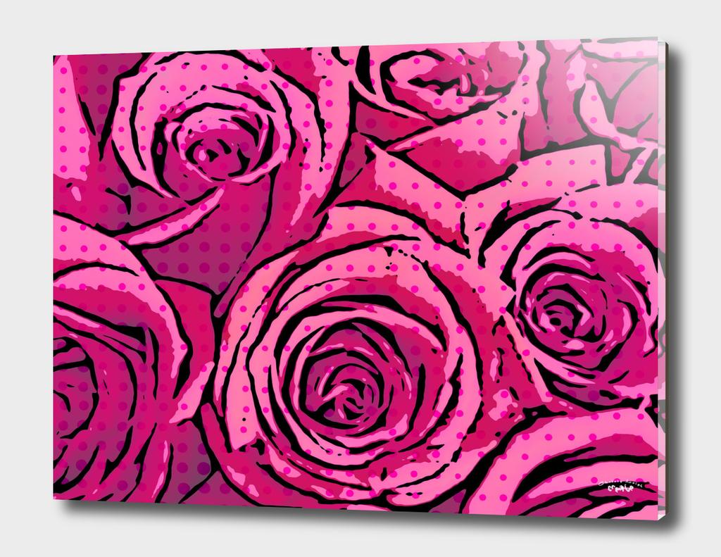 Pop Art Roses (pink)