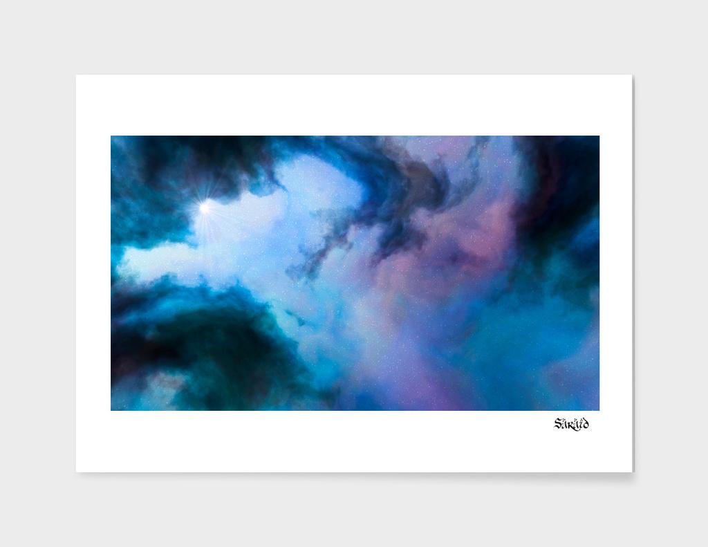 Nebula Cloud - Blue/Purple