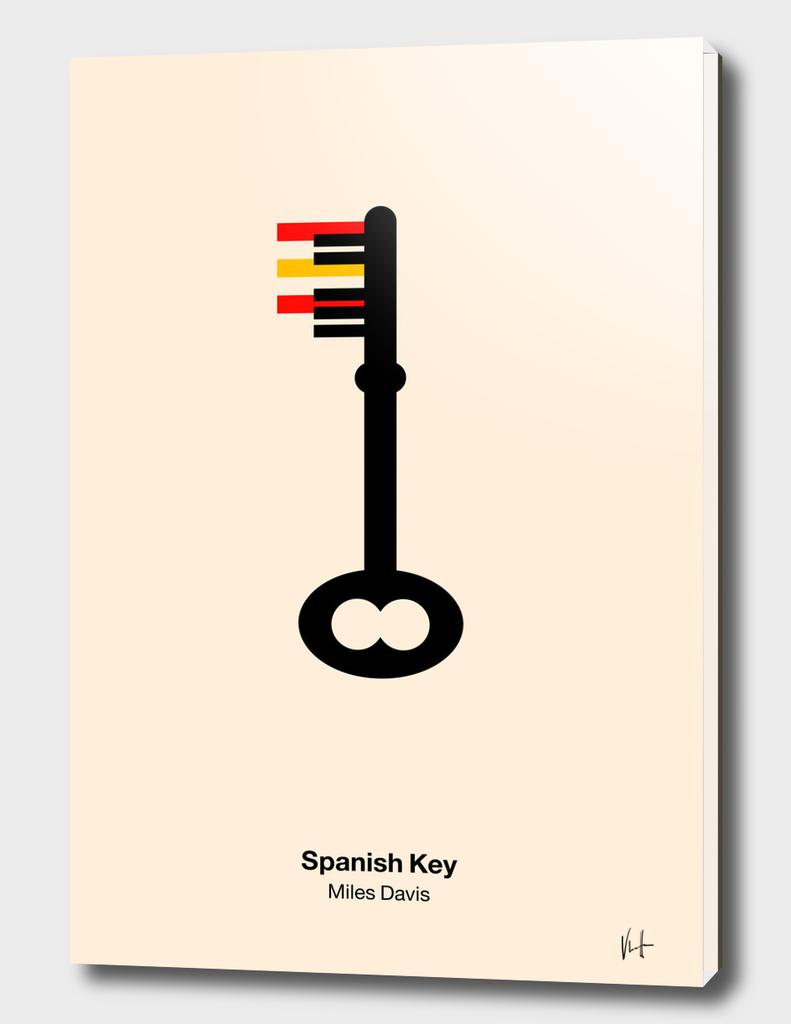 Spanish key