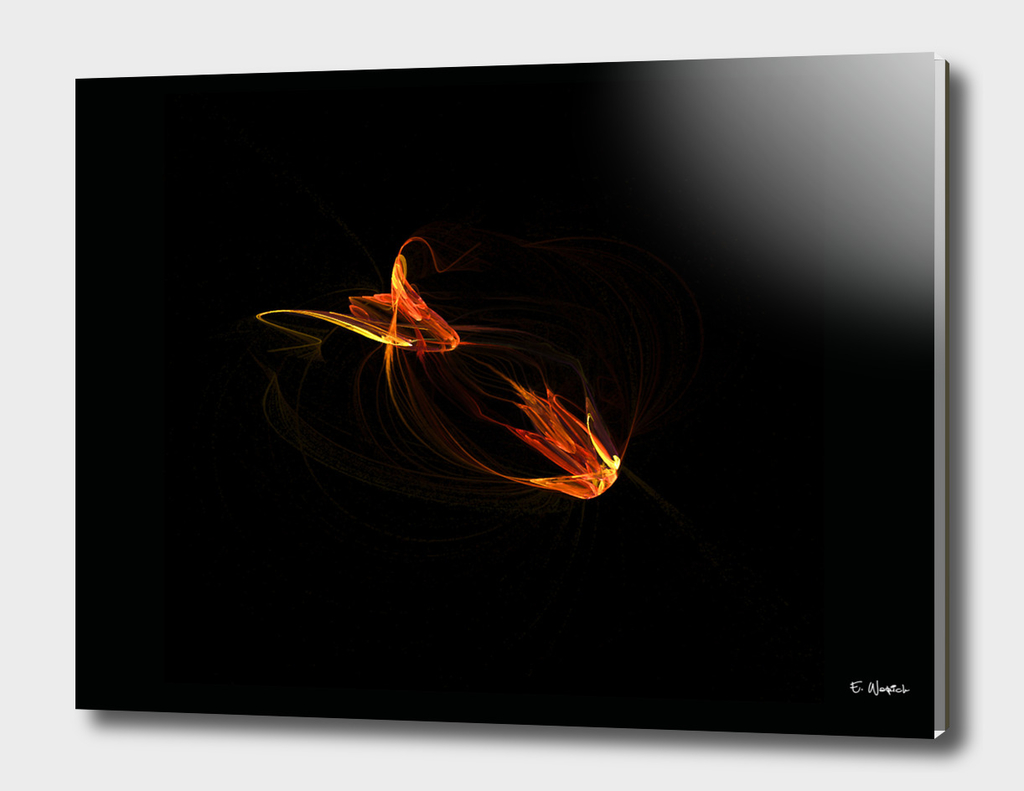 The Ember Abstract Fine Art print