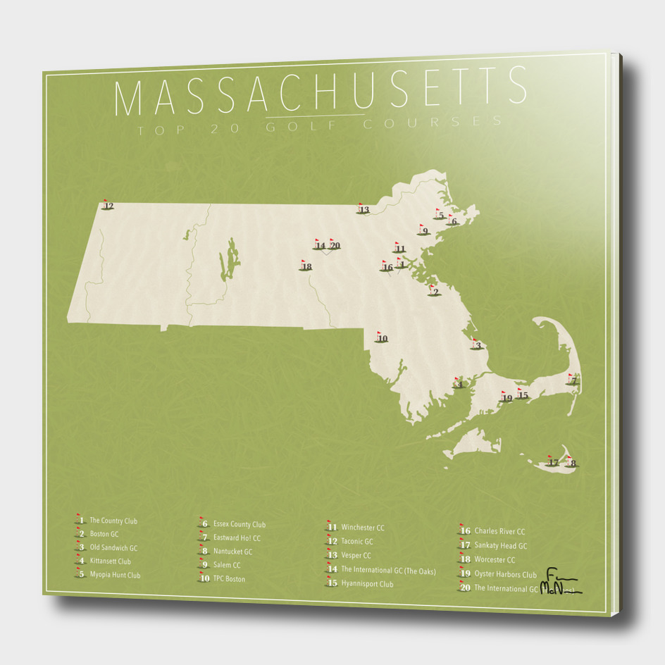 Massachusetts Golf Courses