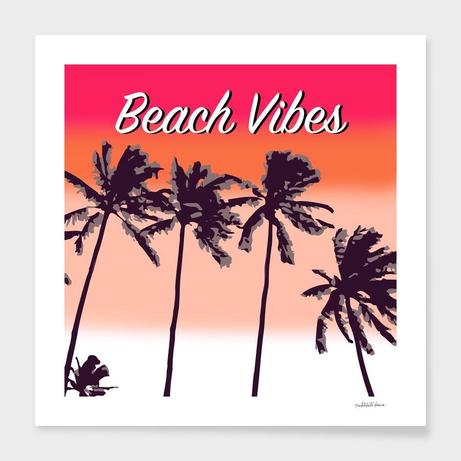 Beach Vibes Pink