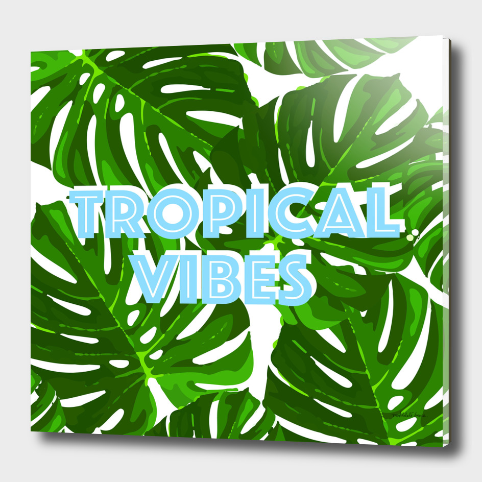 Tropical Vibes 5 ( green )