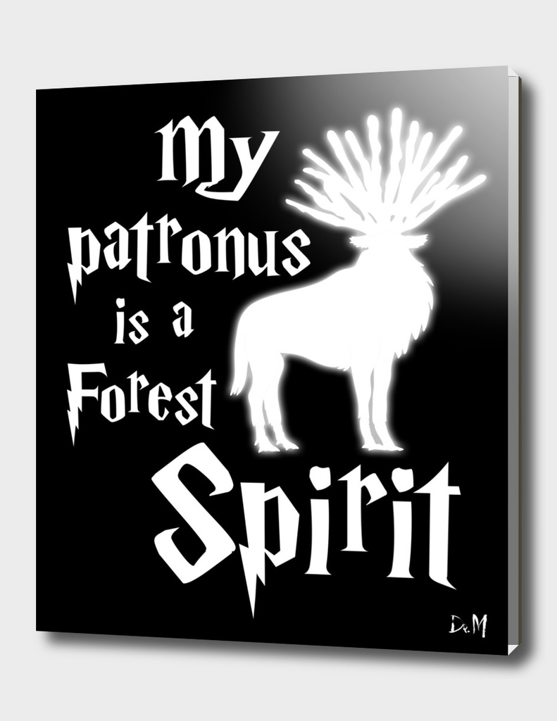 My patronus is a forest spirit
