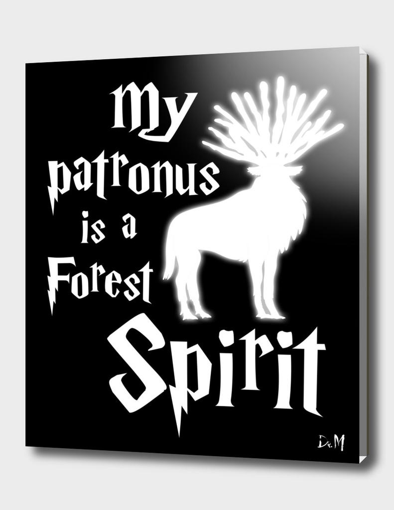 My patronus is a forest spirit