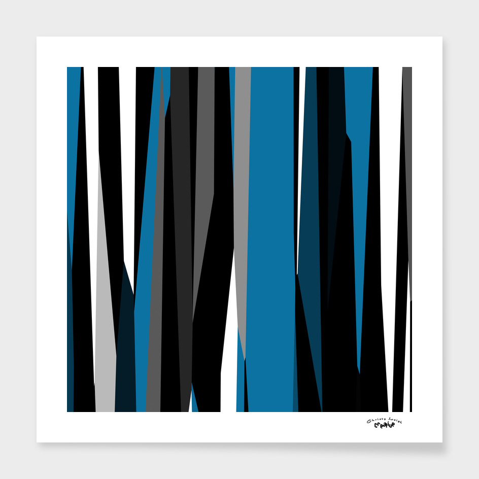 white black blue and gray  abstract