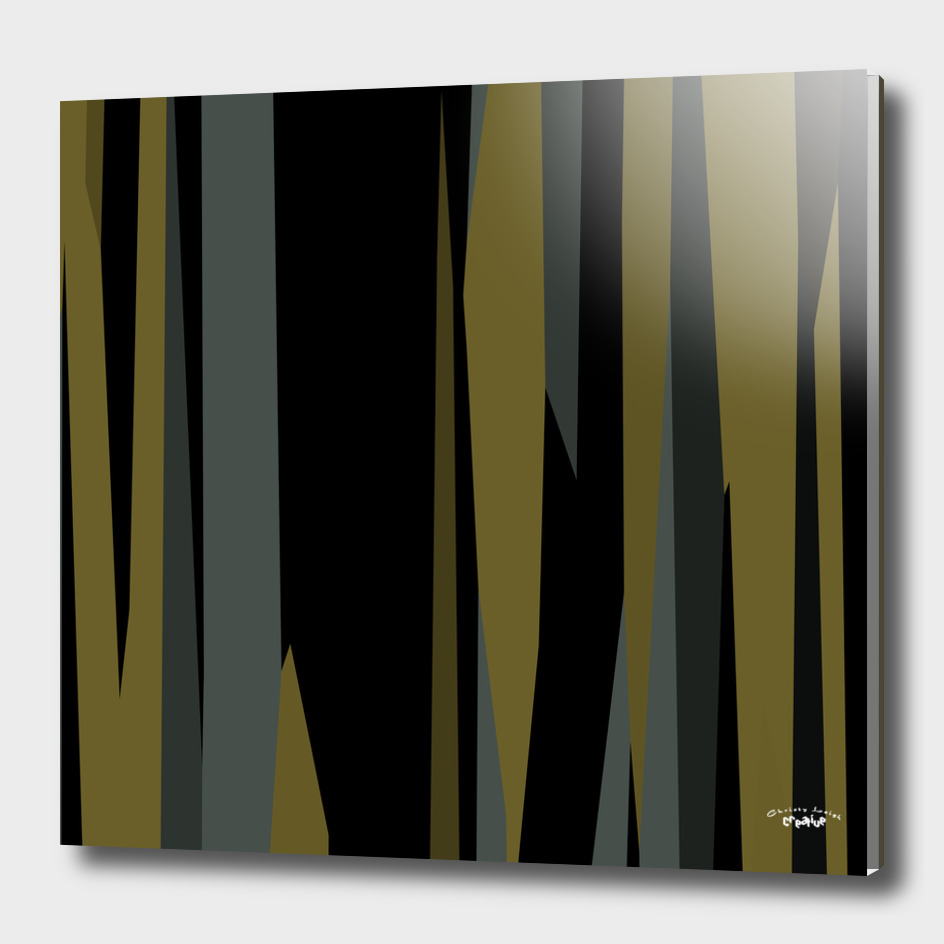 green black and gray abstract
