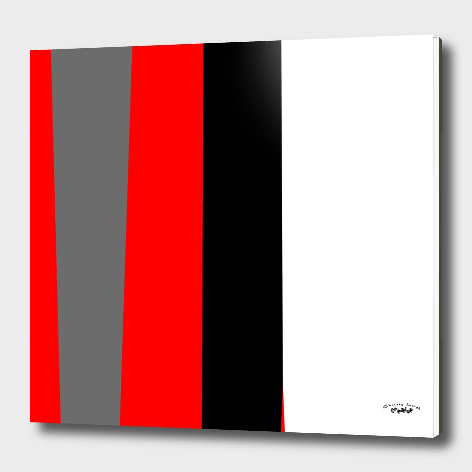red black gray white