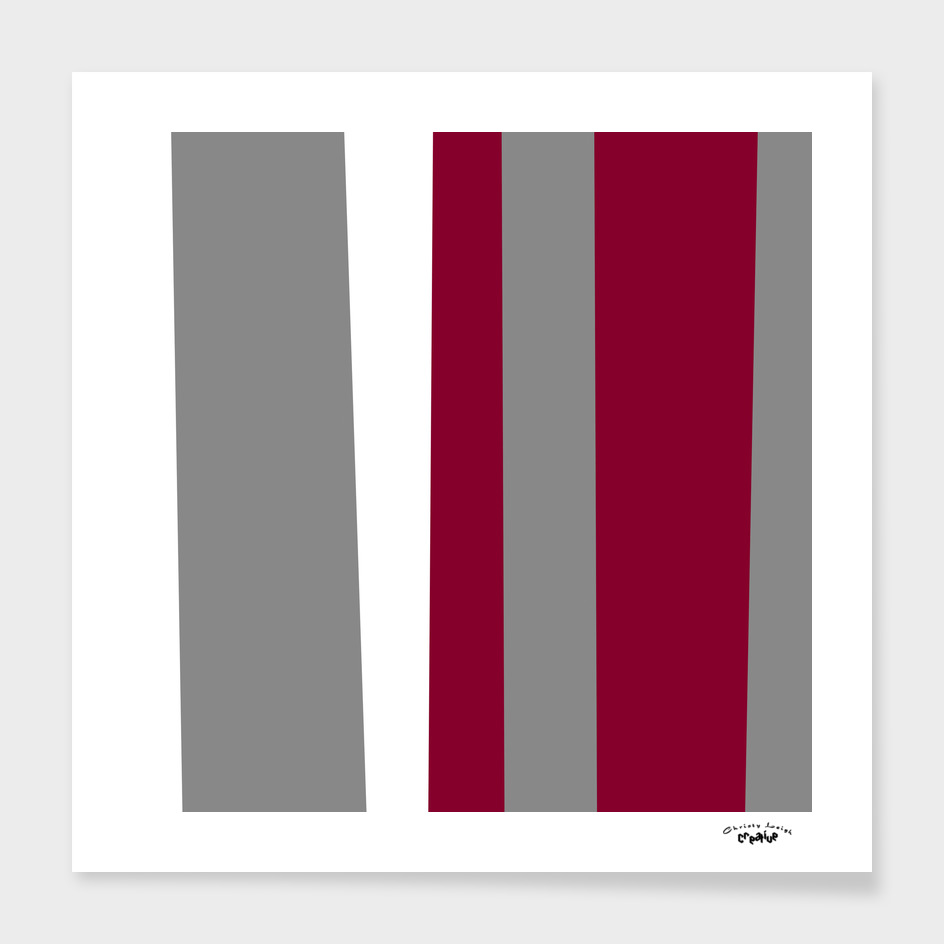 Gray white and red wine