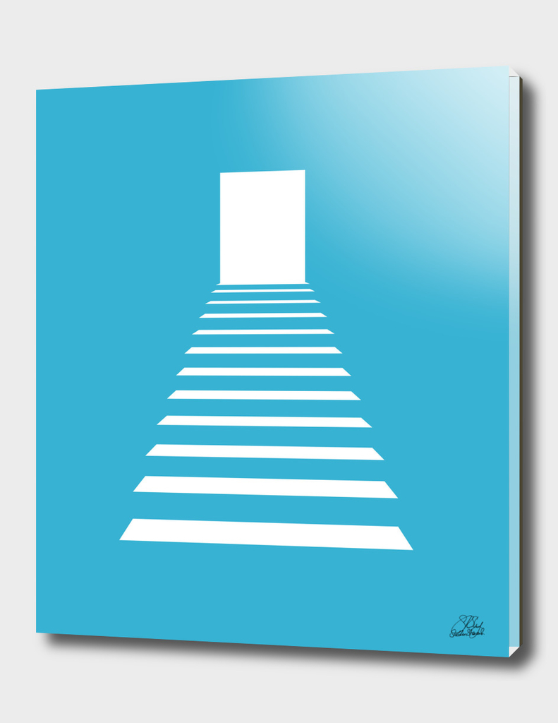 Blue Entryway