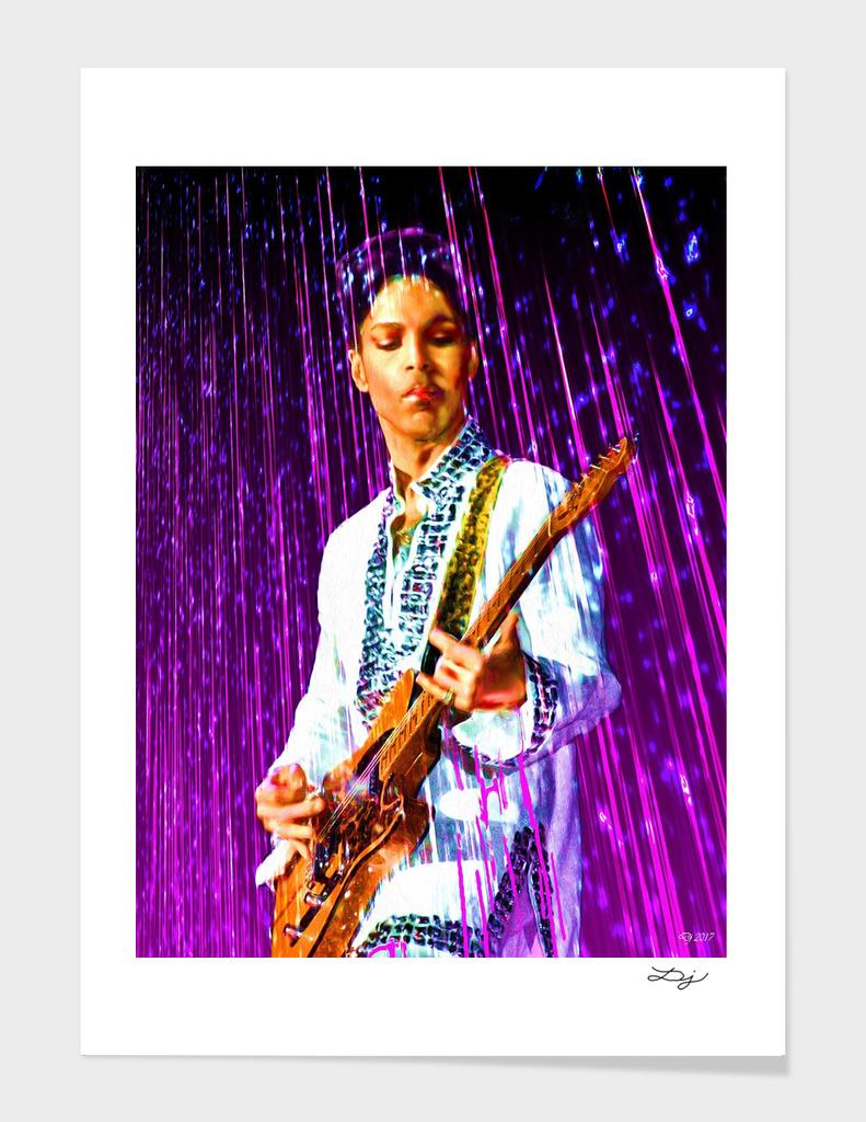 Purple Rain Painted