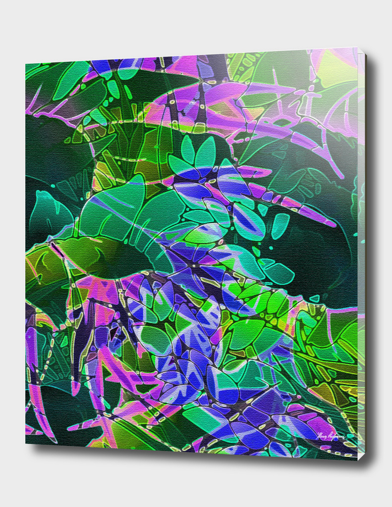 Floral Abstract Artwork C15