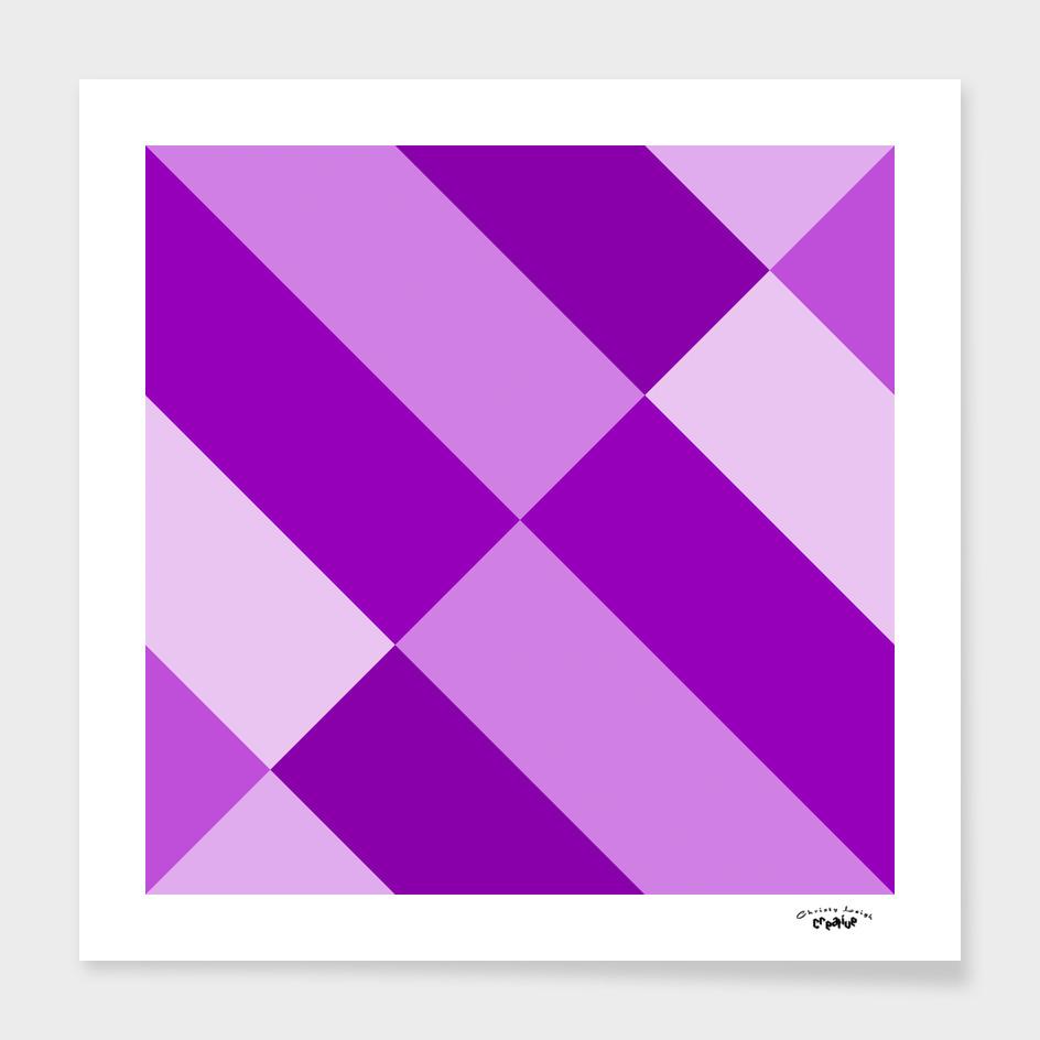 Angled Purple Abstract