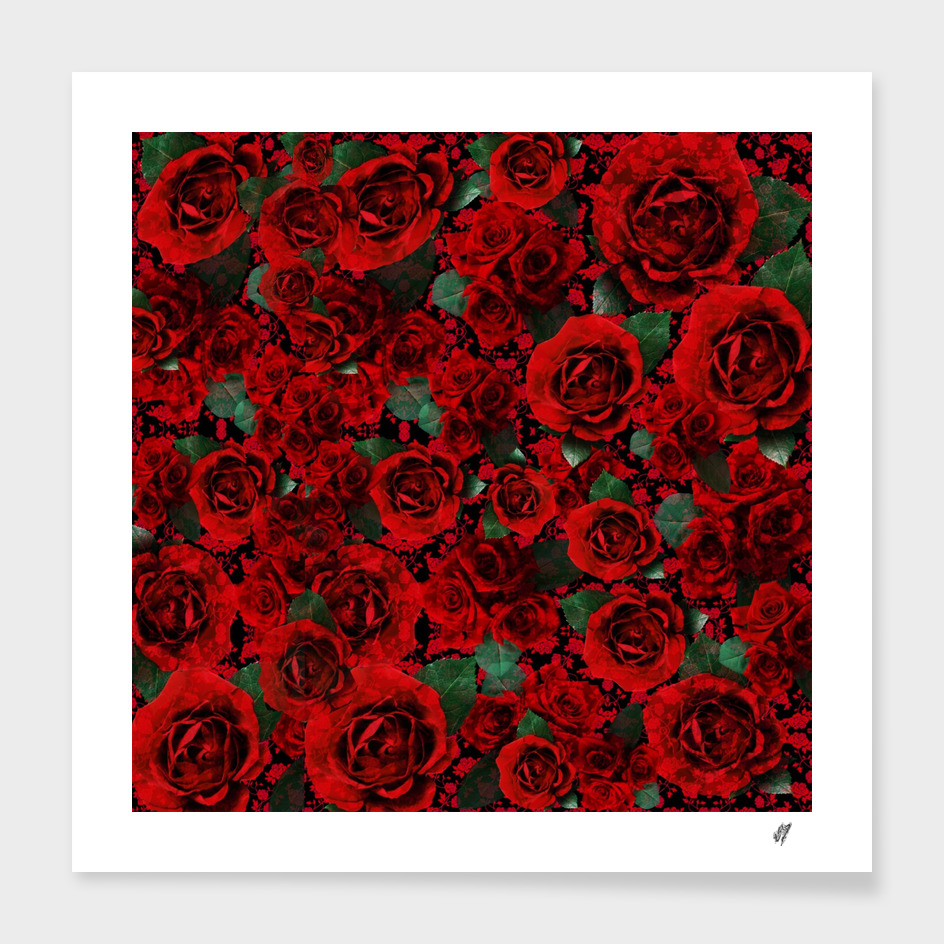 """""""Roses On Roses"""" by surrealpete"""