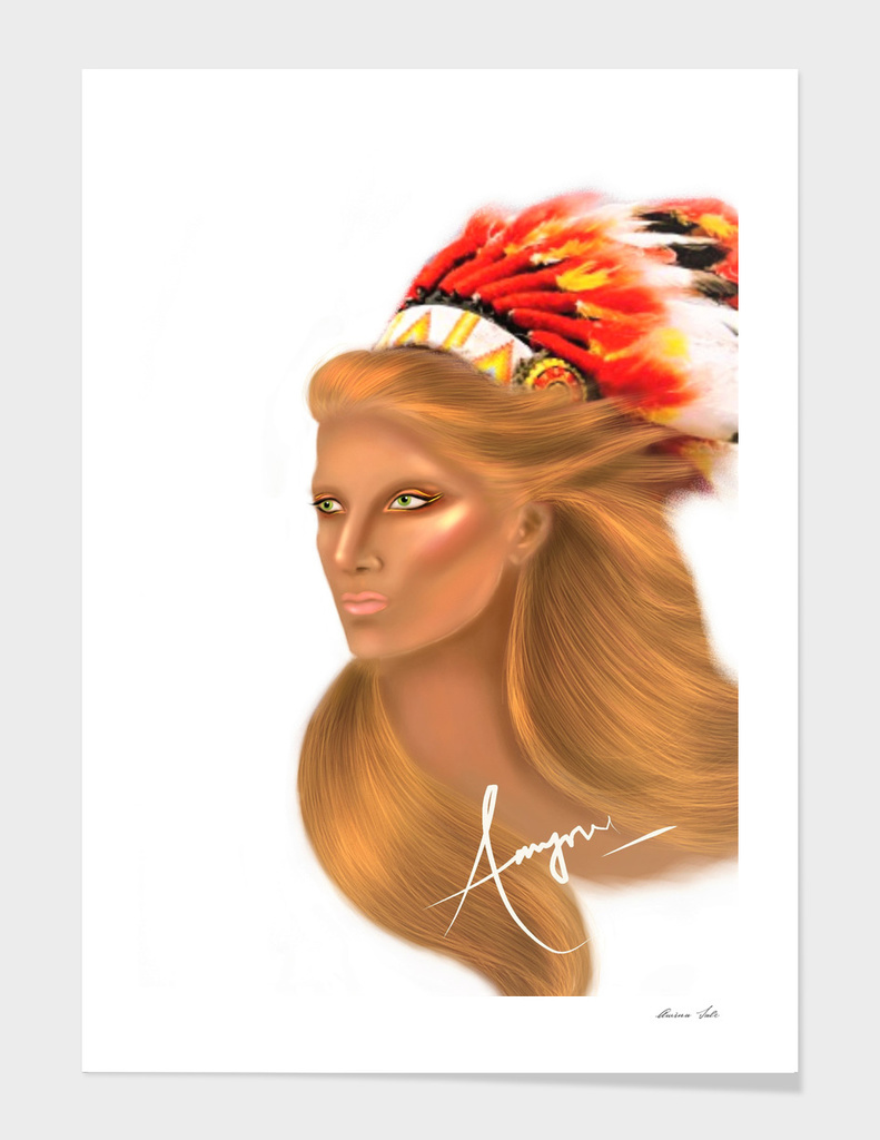 Blond Indian