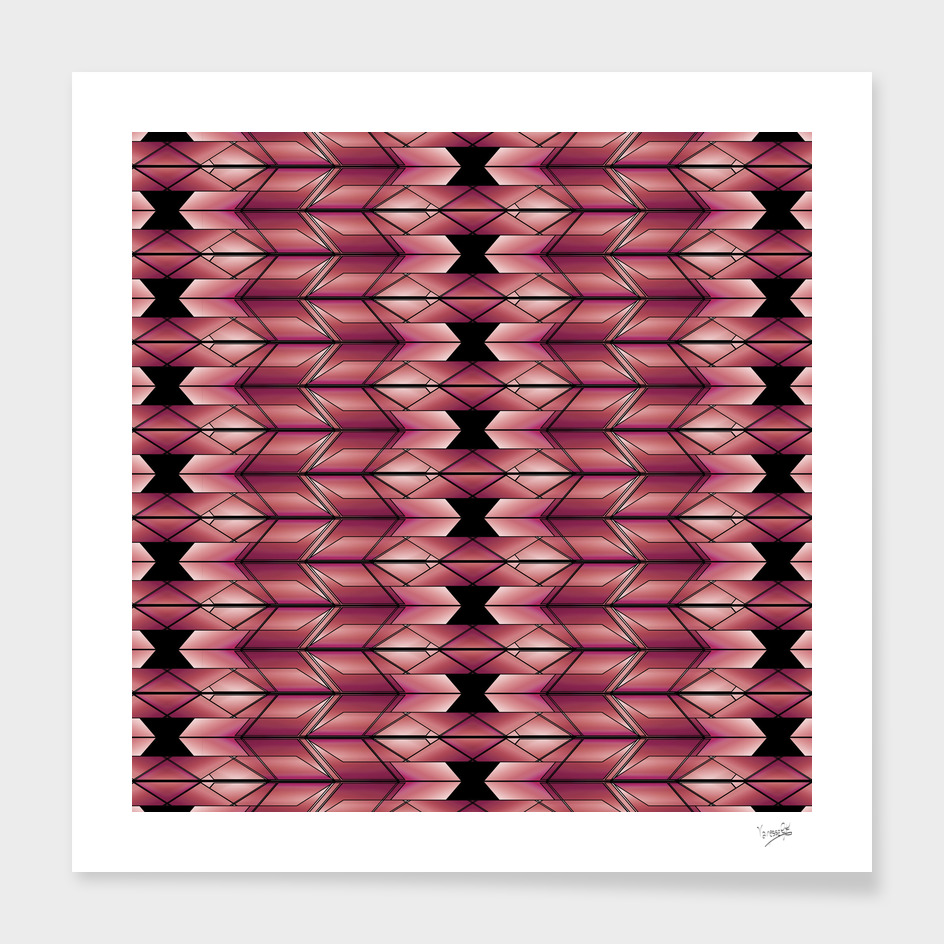 Pattern ethnic geometric