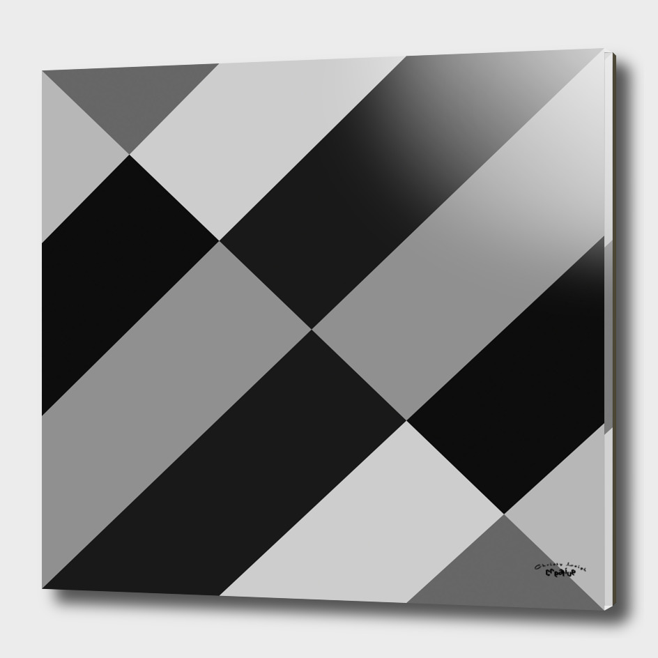 Black and Gray abstract