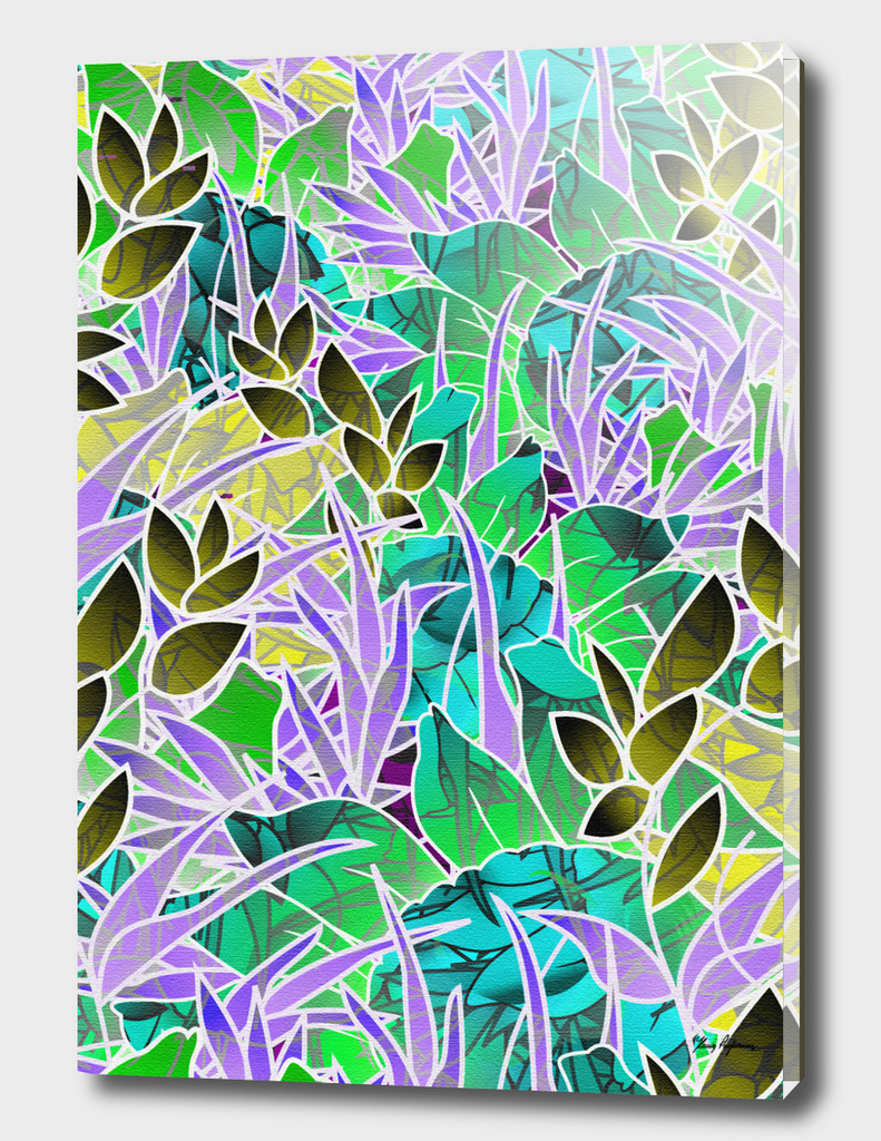 Floral Abstract Artwork G127