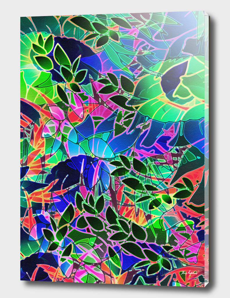 Floral Abstract Artwork G465
