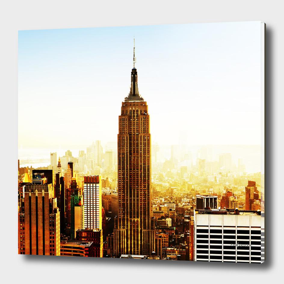 Sunrise in Manhattan (square)