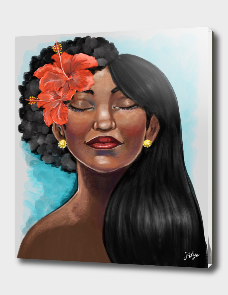 Hibiscus Afro Versatility