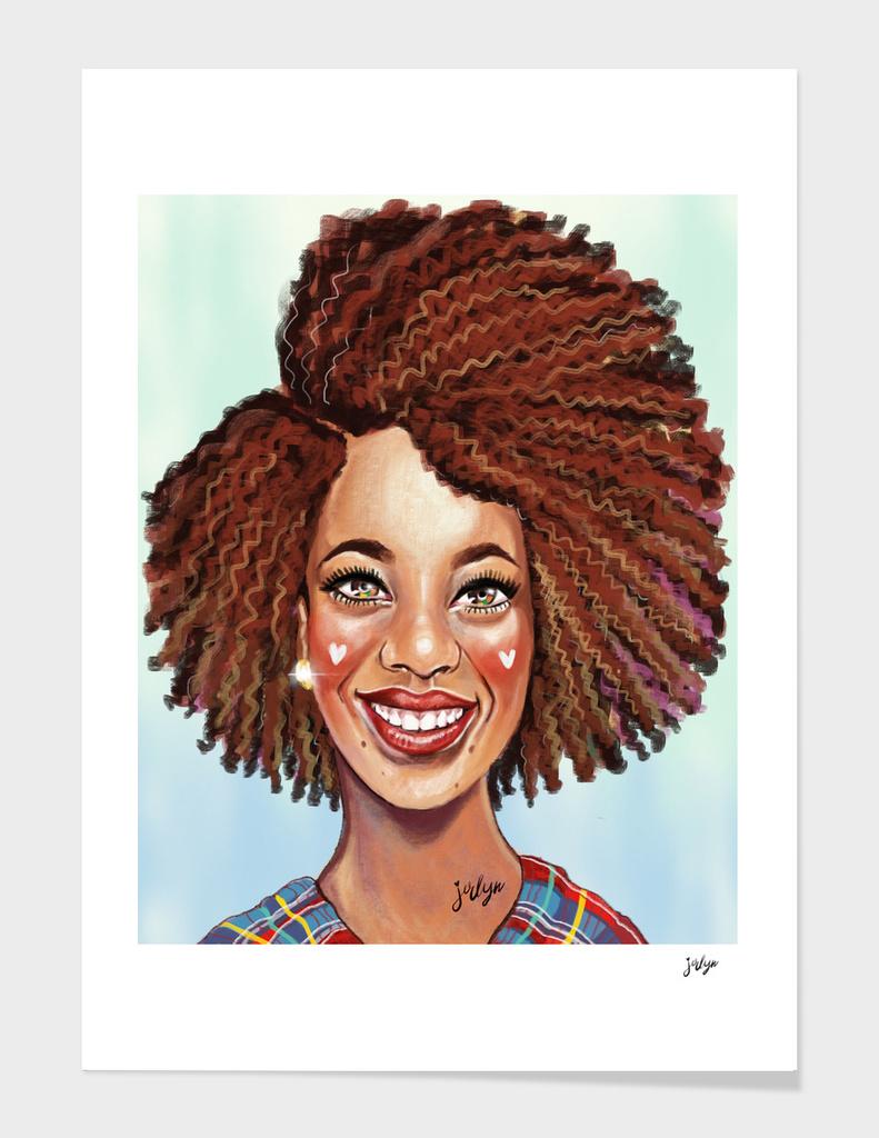 Happy Afro