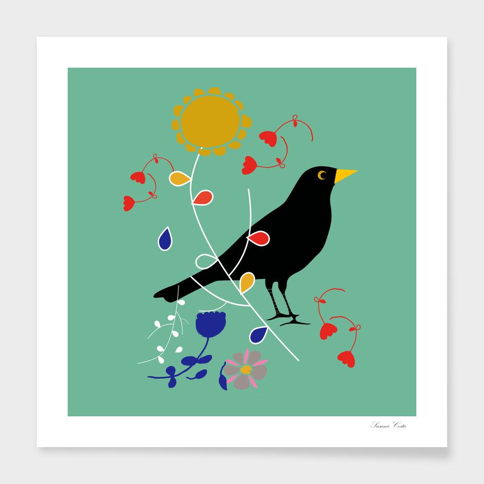 black bird geen