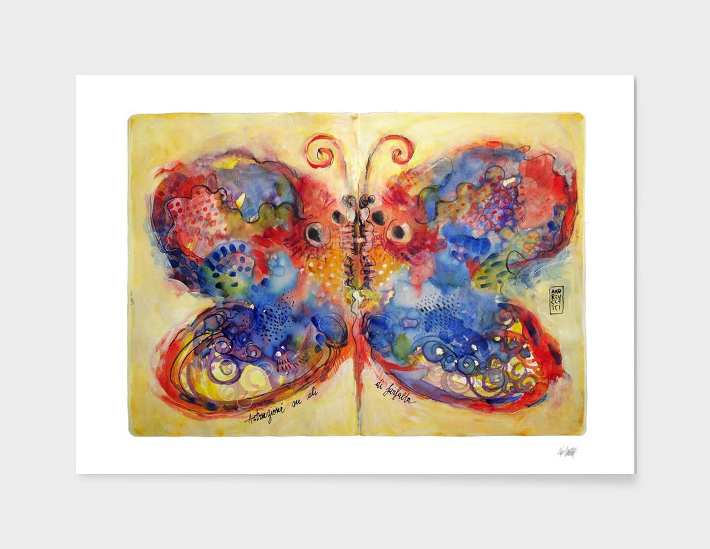 Astrazioni su ali di farfalla