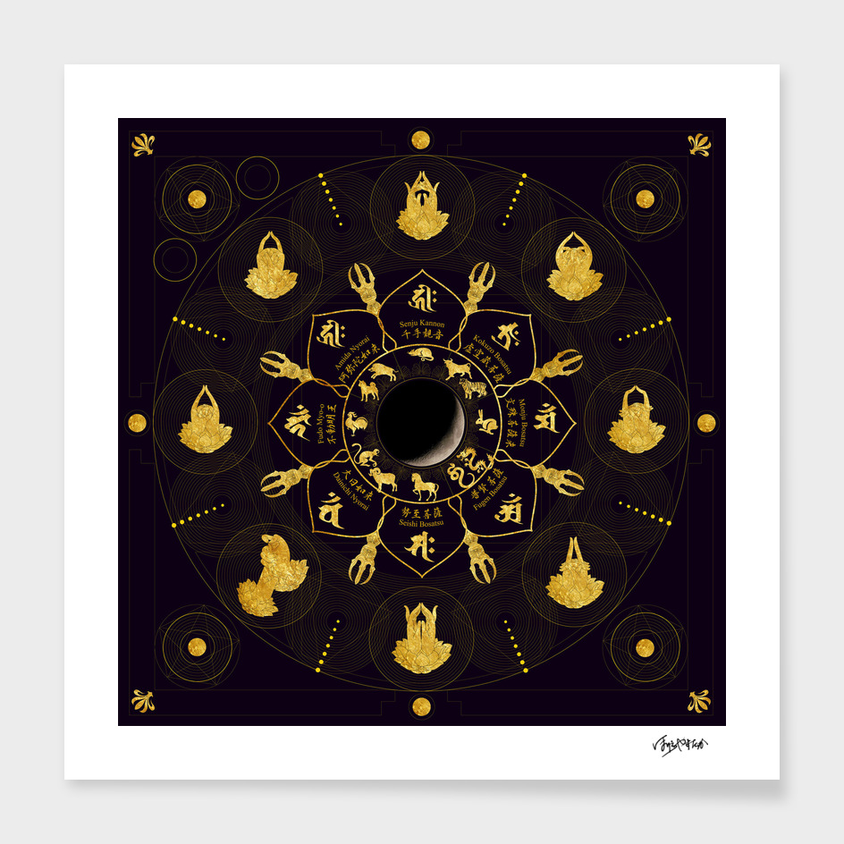 Eto(Japanese zodiac) Mandala