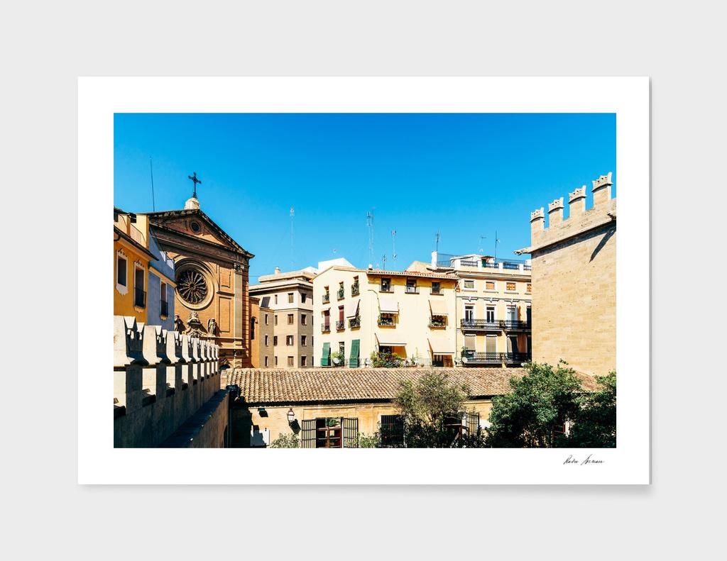 Classic Buildings Architecture In Valencia City
