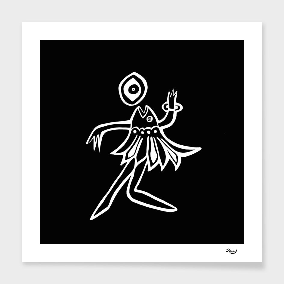 bailarina negra