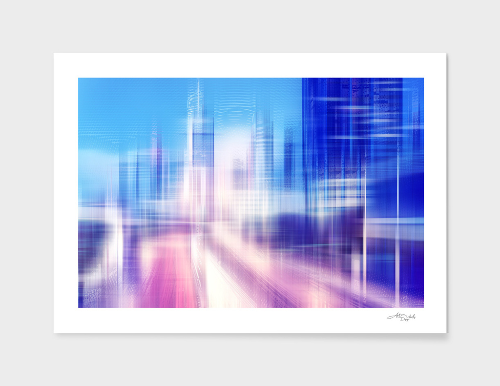 Artistic LXXVIII - Abstract City