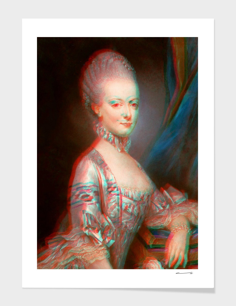 Marie-Antoinette 1769 (Anaglyphe Mix)